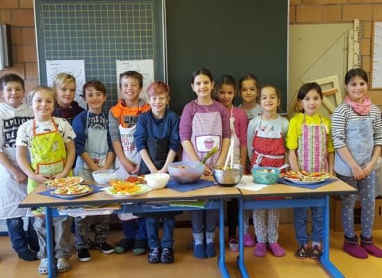 Ernährungsführerschein in den Klassen 3a/b